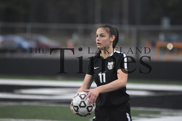 LUHS Girls' Soccer vs. Amherst May 21, 2019