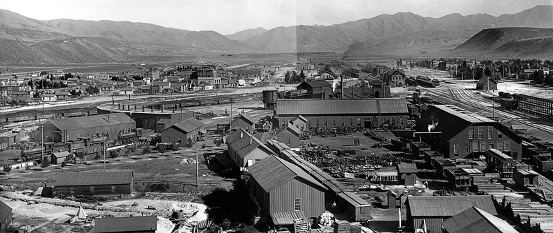 Pocatello, Idaho, circa 1902. Havenor Photo, James Watson Collection