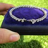 9.50ctw Round Brilliant Diamond Tennis Bracelet 48