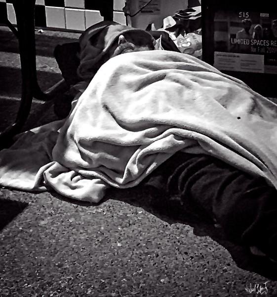 sleepijng  homeless guy..2019