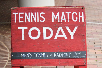 Men's Tennis vs Radford