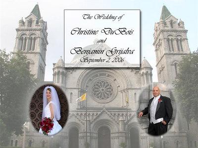 Ben & Christine's Wedding Album