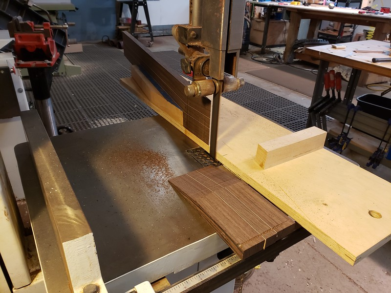 cutting scarf joint