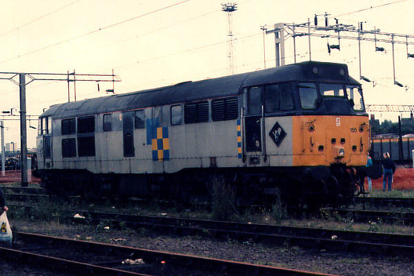 31155 at Bescot Yard on the 30th August 1992