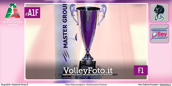 Imoco Volley Conegliano - Nordmeccanica Piacenza   F1 #Finale #MGSVolleyCup #A1F