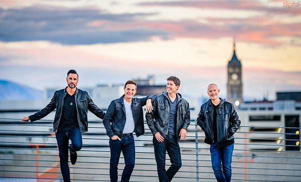 Piano Guys SLC Photoshoot