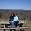 2018-04-21 Caper Cornwal Dump Mohawk Mountain V(120) Mom Sandy Kathy Picnic Table