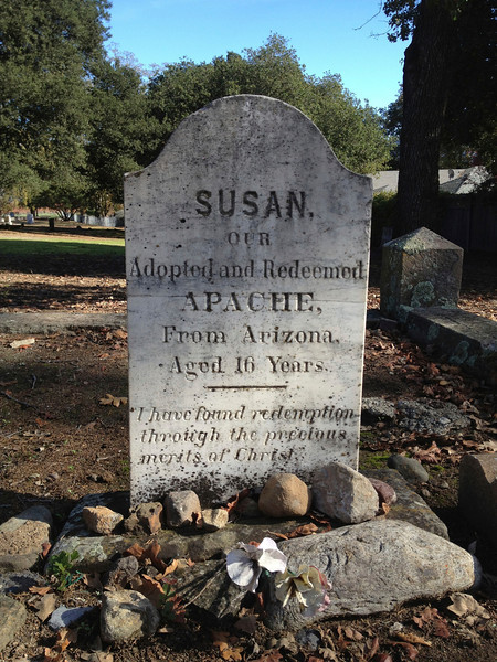 In Yountville's Pioneer Cemetery