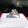 1.88ctw Platinum Filigree Solitaire Ring by C.D. Peacock, GIA S-T, VS 8