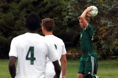 Borah vs. Eagle Boys Soccer 9/30/2015