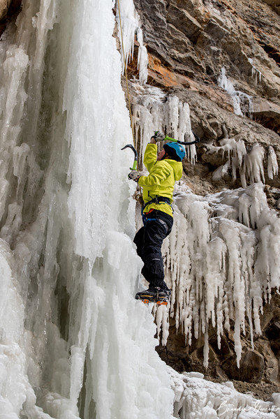 Ice Climbing Pricecile 2015