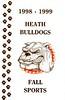 1998-08-01 thru 1999 Heath Fall Sports