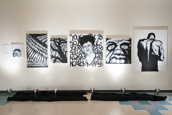 Painting Exhibit at Dower, Oct 2018