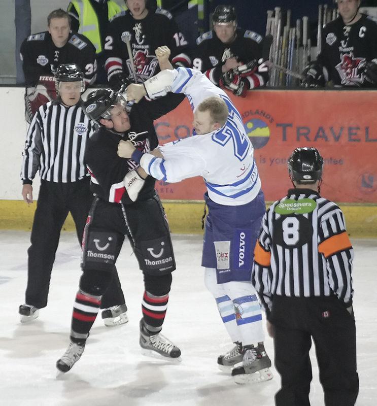 Blaze v Cardiff Devils - 22/01/2006