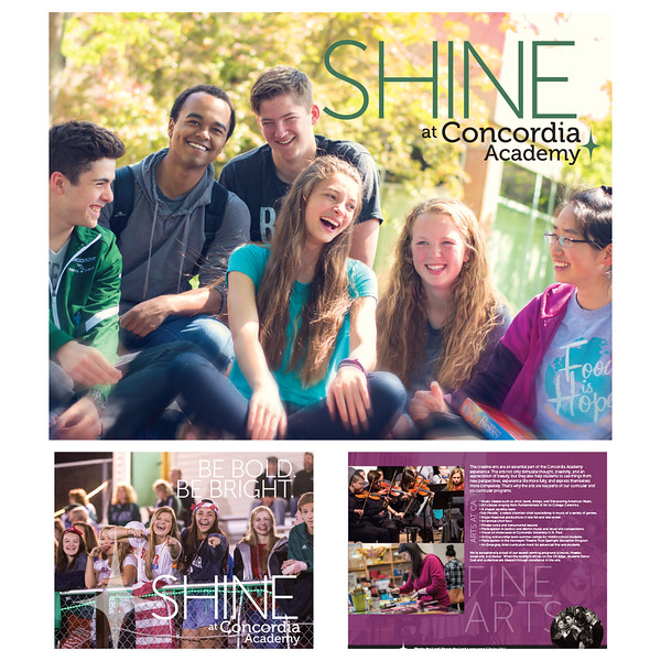 """Shine"" Admissions Viewbook"