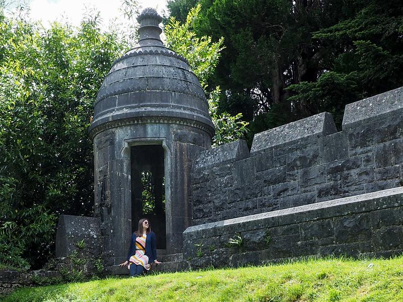At Ashford Castle in Ireland
