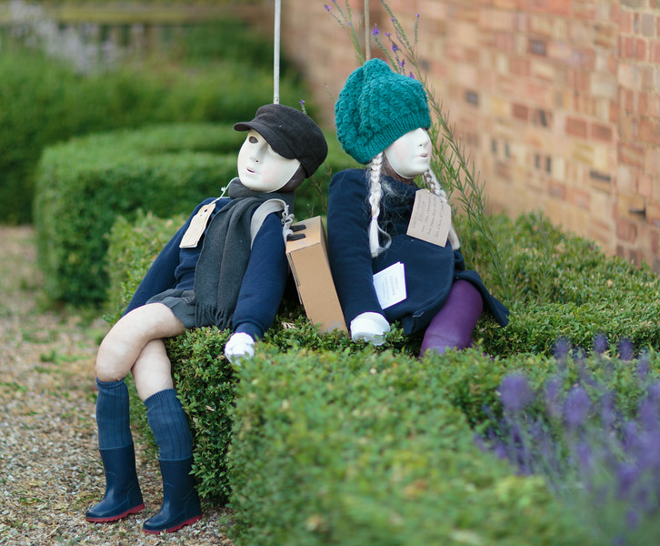 Two Evacuees named Chloe and Jacob (The Gables, 18 High Street)