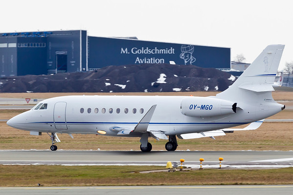 OY-MGO - Dassault Falcon 2000EX
