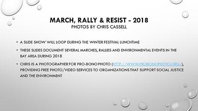 2018 Protest Highlights Slideshow