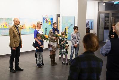 """2017-03-03 - Ostrów Wlkp. - Wernisaż wystawy """"Malowane wiatrem Ekspresje lekkości"""""""