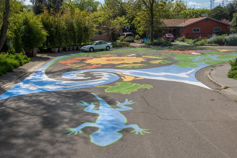 M (and Duke) Street street mural