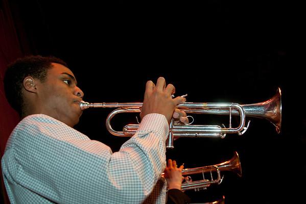 Jazz Ensemble & Jazz Lab Band PR Shoot