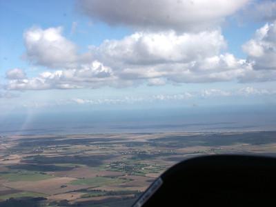 Aerial East coast