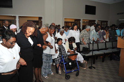 "Prayer Service -- 05/16/2012 -- ""Locking Arms"""