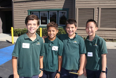 Saint Mark's Students Go Back to School