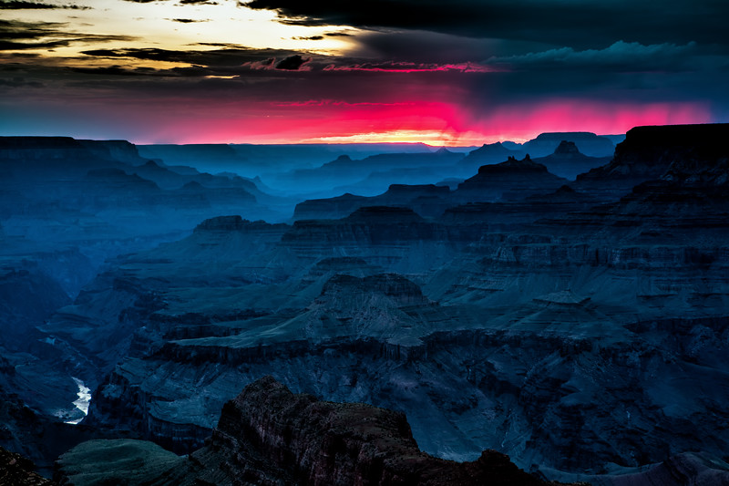 Lipan Point Sunset, Grand Canyon