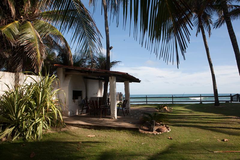 A beach home near Fortaleza, Brazil.