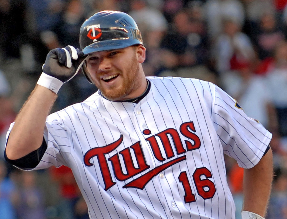 . #4 -- Minnesota\'s Jason Kubel  had his best season as a designated hitter in 2009, with 28 home runs, 103 RBIs and a .300 batting average, when he was DH about half the season.  (Pioneer Press: John Autey)