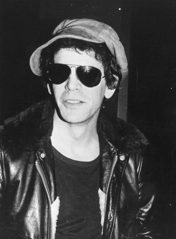 . Singer-songwriter Lou Reed, formerly of cult ground-breaking rock \'n\' roll noise group the Velvet Underground circa 1976.  (Photo by Keystone/Getty Images)
