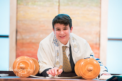 Henry at Temple Emanuel