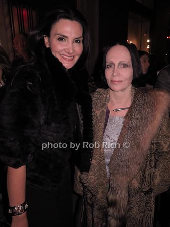 Alessandra Emanuel, Mary McFadden photo by Rob Rich/SocietyAllure.com © 2014 robwayne1@aol.com 516-676-3939