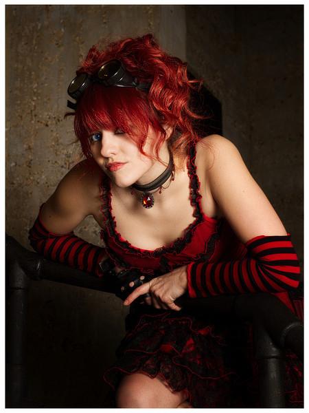 Bridgette in Red