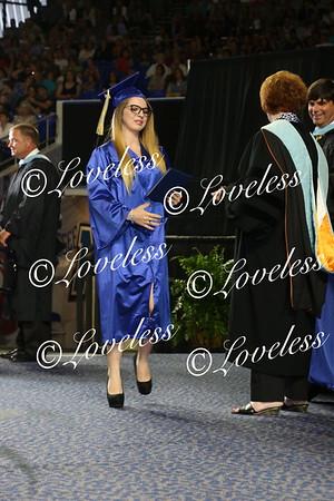Graduation 2017 Receiving Diplomas