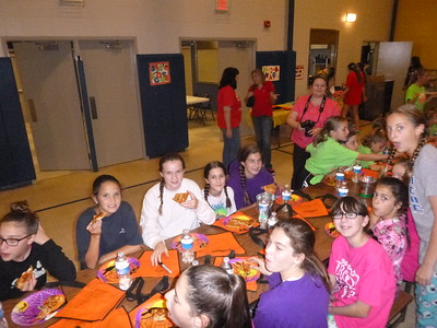 2014-10-03 7th Gr Girl Scouts - Halloween Lock In
