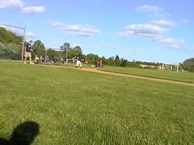 Sean playing Baseball at Bittner