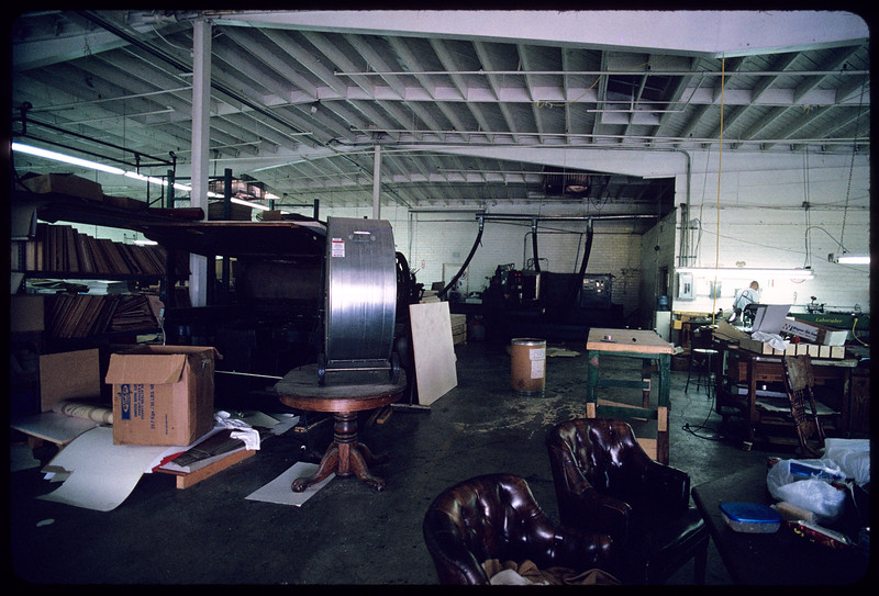 R.G. Die Cutting & Foil Graphics, Los Angeles, 2004