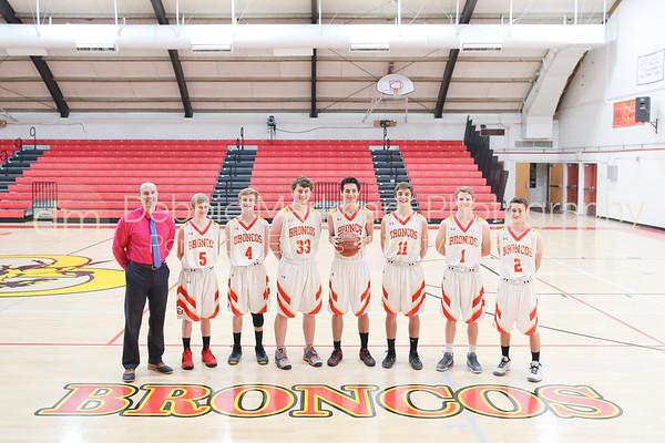 2017-2018 Boys Basketball Team