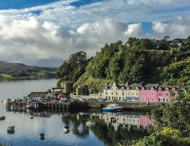 Portree Harbor - Isle of Skye