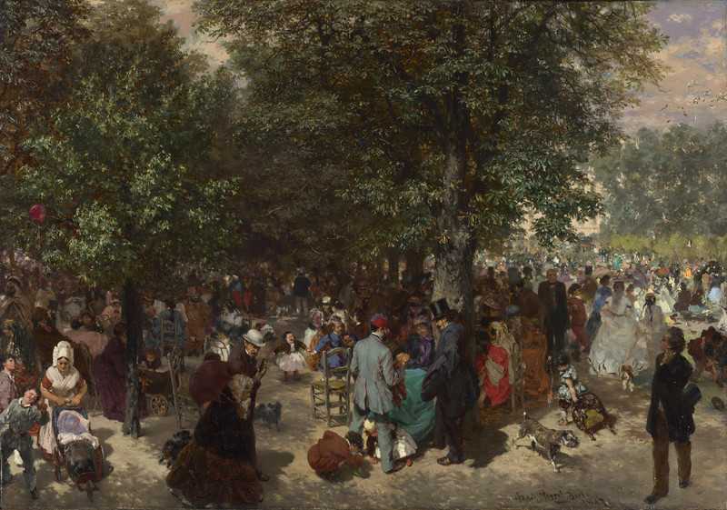 Afternoon in the Tuileries Gardens