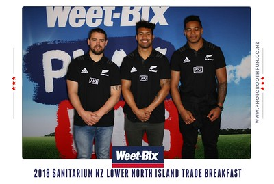 Sanitarium Trade Breakfast ... with the All Blacks!