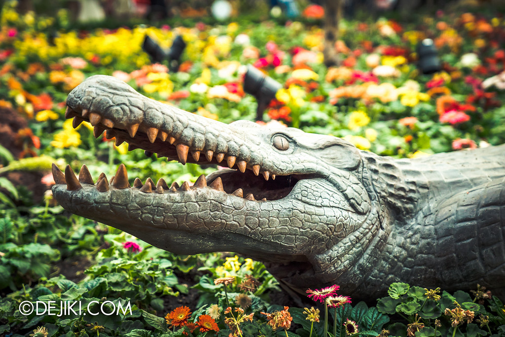 Gardens by the Bay - Tribal Tempo crocodile