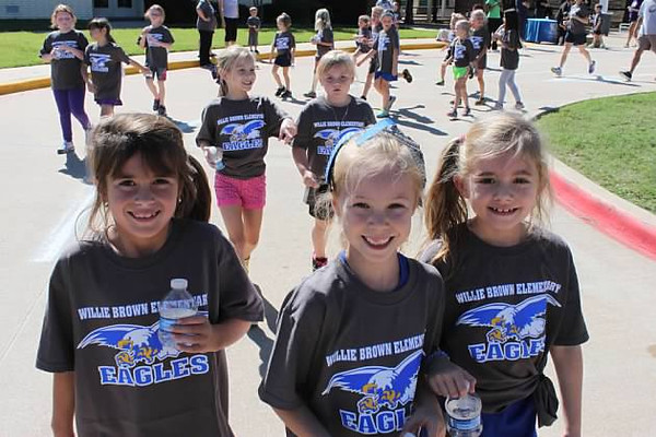 Willie Brown Elementary 2013 Fun Run