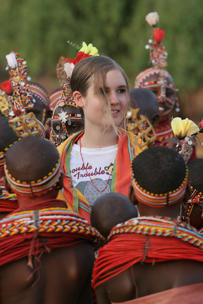Audrey with Samburu Girls at Goat Ceremony RCC 245.jpg