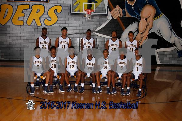 2016-2017 Boys Varsity basketball