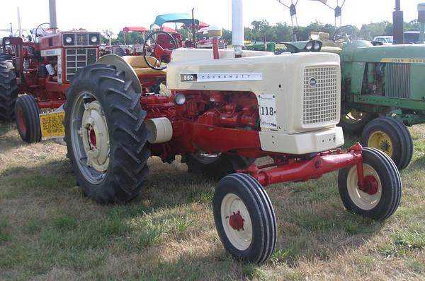Tractors -- White