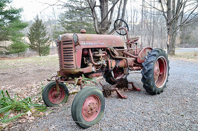 1955 Farmall Cub Tractor and Implements
